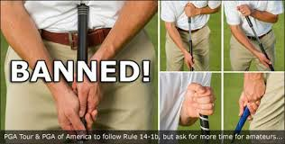 Good- bye long putter or anchored putters